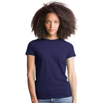 textil Dame T-shirts & poloer Mantis M69 Dark Navy