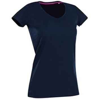 textil Dame T-shirts m. korte ærmer Stedman Stars Claire Marina Blue