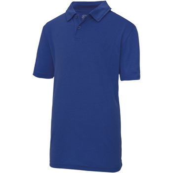 textil Børn Polo-t-shirts m. korte ærmer Just Cool  Royal