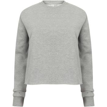 textil Dame Sweatshirts Skinni Fit SK515 Heather Grey