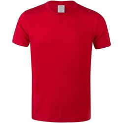 textil Børn T-shirts m. korte ærmer Skinni Fit SM121 Bright Red