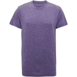 textil Herre T-shirts m. korte ærmer Tridri TR010 Purple Melange