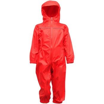 textil Dreng Buksedragter / Overalls Regatta RG252 Classic Red