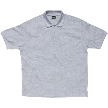 textil Dreng Polo-t-shirts m. korte ærmer Sg SG59K Light Oxford