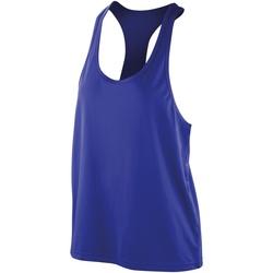 textil Dame Toppe / T-shirts uden ærmer Spiro SR285F Sapphire