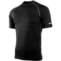 textil Herre T-shirts m. korte ærmer Rhino RH002 Black Heather