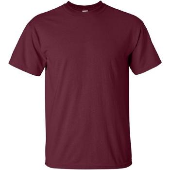 textil Herre T-shirts m. korte ærmer Gildan Ultra Maroon