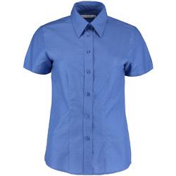 textil Dame Skjorter / Skjortebluser Kustom Kit KK360 Italian Blue