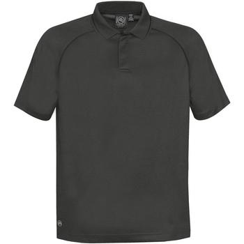 textil Herre Polo-t-shirts m. korte ærmer Stormtech GPX-4 Carbon/Black