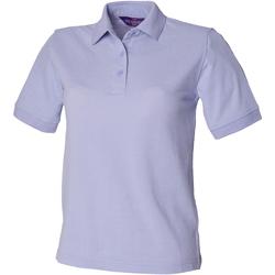 textil Dame Polo-t-shirts m. korte ærmer Henbury HB401 Lavender