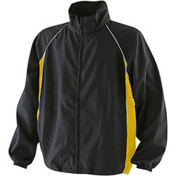 textil Herre Vindjakker Finden & Hales LV610 Black/Yellow/White