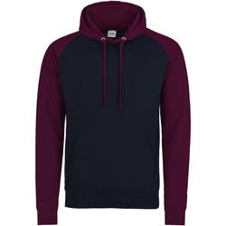 textil Herre Sweatshirts Awdis JH009 Oxford Navy/Burgundy