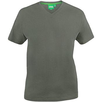 textil Herre T-shirts m. korte ærmer Duke  Khaki