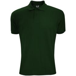 textil Herre Polo-t-shirts m. korte ærmer Sg Polycotton Bottle Green