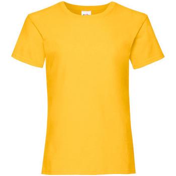 textil Pige T-shirts m. korte ærmer Fruit Of The Loom 61005 Sunflower