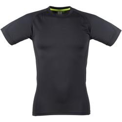 textil Herre T-shirts m. korte ærmer Tombo Teamsport TL515 Black / Black