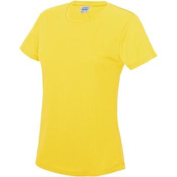 textil Dame T-shirts m. korte ærmer Awdis JC005 Sun Yellow
