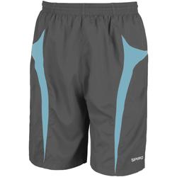 textil Herre Shorts Spiro S184X Grey/Aqua