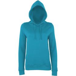 textil Dame Sweatshirts Awdis Girlie Sapphire Blue