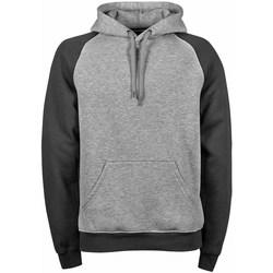textil Herre Sweatshirts Tee Jays TJ5432 Heather Dark Grey