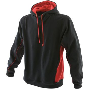 textil Herre Sweatshirts Finden & Hales LV335 Black/Red