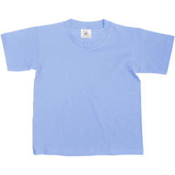 textil Børn T-shirts m. korte ærmer B And C TK300 Denim