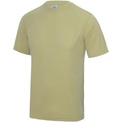textil Herre T-shirts m. korte ærmer Awdis JC001 Desert Sand