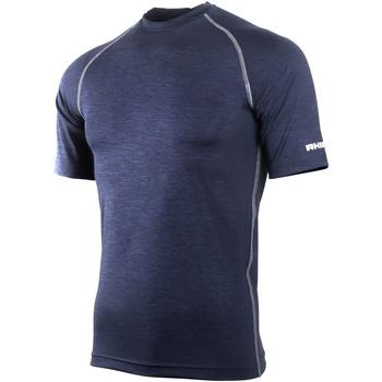 textil Herre T-shirts m. korte ærmer Rhino RH002 Navy Heather