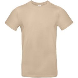 textil Herre T-shirts m. korte ærmer B And C TU03T Sand