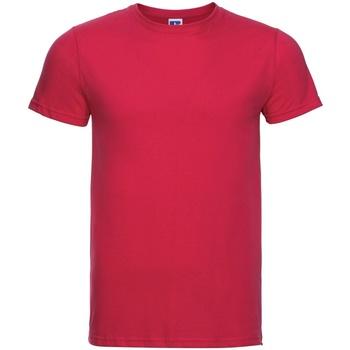 textil Herre T-shirts m. korte ærmer Russell R155M Classic Red