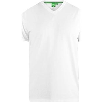 textil Herre T-shirts m. korte ærmer Duke  White