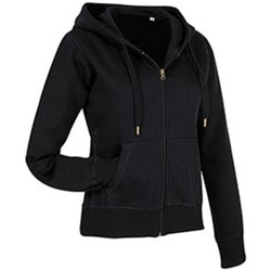 textil Dame Sweatshirts Stedman  Black Opal