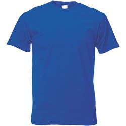 textil Herre T-shirts m. korte ærmer Universal Textiles 61082 Cobalt