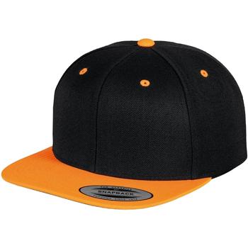 Accessories Kasketter Yupoong YP002 Black/ Neon Orange
