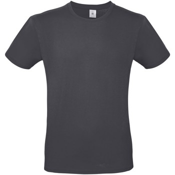 textil Herre T-shirts m. korte ærmer B And C TU01T Dark Grey