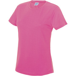 textil Dame T-shirts m. korte ærmer Awdis JC005 Electric Pink