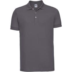 textil Herre Polo-t-shirts m. korte ærmer Russell 566M Convoy Grey