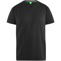 textil Herre T-shirts m. korte ærmer Duke  Black