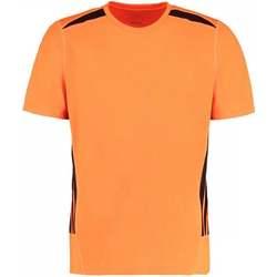 textil Herre T-shirts m. korte ærmer Gamegear KK930 Fluorescent Orange/Black