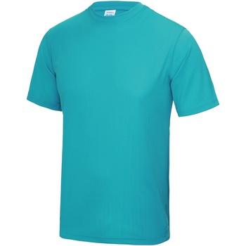 textil Herre T-shirts m. korte ærmer Awdis JC001 Hawaiian Blue