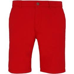 textil Herre Shorts Asquith & Fox AQ051 Cherry Red