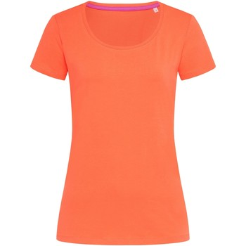 textil Dame T-shirts m. korte ærmer Stedman Stars  Salmon Pink