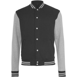 textil Dame Jakker Build Your Brand BY027 Black/Heather Grey