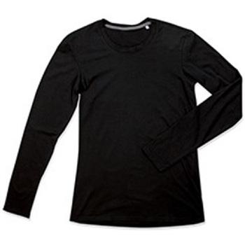 textil Herre Langærmede T-shirts Stedman Stars  Black Opal