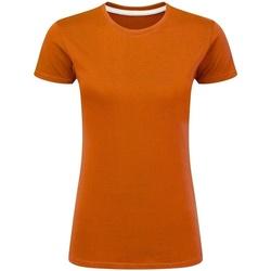 textil Dame T-shirts m. korte ærmer Sg Perfect Orange