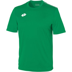 textil Børn T-shirts m. korte ærmer Lotto LT26B Grass/White