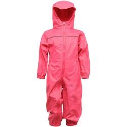 textil Dreng Buksedragter / Overalls Regatta RG252 Jem Pink