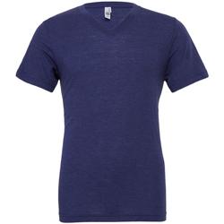 textil Herre T-shirts m. korte ærmer Bella + Canvas CA3415 Navy Triblend