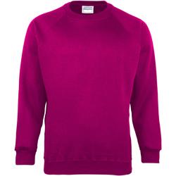 textil Børn Sweatshirts Maddins MD01B Raspberry