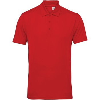 textil Herre Polo-t-shirts m. korte ærmer Tridri TR012 Fire Red